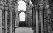 Holy Island, Lindisfarne Priory c.1960