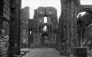 Holy Island, Lindisfarne Priory, The Nave c.1950