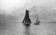 Holy Island, Regatta Day c.1935