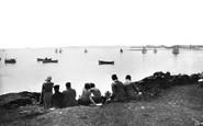 Holy Island, Regatta Day c.1940