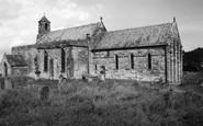 Holy Island, St Mary's Church c.1960