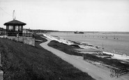 Holyhead, The Promenade And Beach c.1955