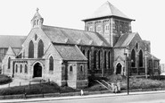 Horden, St Mary's Church c1955