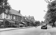 Hornchurch, Butts Green Road c.1955