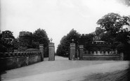 Hornchurch, Grey Towers Entrance 1908