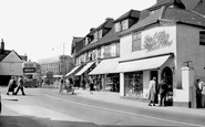 Hornchurch, High Street c.1950