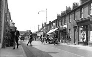 Hornchurch, High Street c.1955