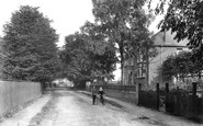 Hornchurch, Pittle Lane 1909