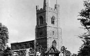Hornchurch, St Andrew's Church  c.1950
