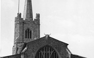 Hornchurch, St Andrew's Church c.1955
