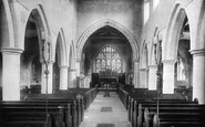 Hornchurch, St Andrew's Church Interior 1908