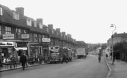 Hornchurch, The Broadway, Elm Park c.1955