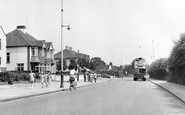 Hornchurch, Upminster Road c.1950