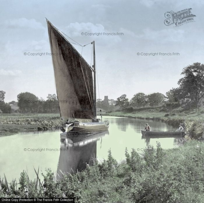 Horning, A Wherry On The Broads 1902