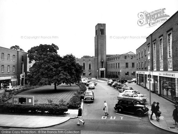 Hornsey, The Town Hall c.1965 - Francis Frith Hornsey