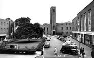 Hornsey, the Town Hall c1965