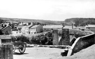 Horrabridge, the Bridge 1898