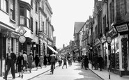 Photo of Horsham, East Street c1955