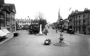 Photo of Horsham, the Carfax 1924