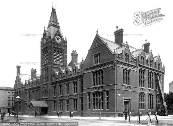 Photo of Hove, the Town Hall 1898