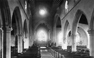 Hucknall, Hucknall Torkard Church, Nave East 1890