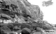 Hunstanton, Cliffs South 1896