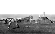 Hunstanton, Cross And Pier 1921
