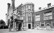 Hunstanton, Old Hall Courtyard 1893