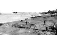 Hunstanton, The Bathing Beach 1921
