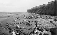 Hunstanton, The Beach And Cliffs 1921