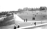 Hunstanton, The Green And Parade 1893