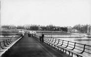 Hunstanton, The Pier And Beach 1901