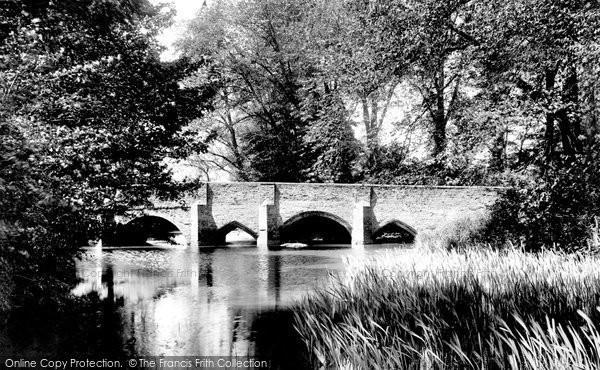 Huntingdon, Nuns Bridge 1901