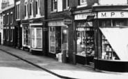 Ibstock, Shops On Main Street c.1965