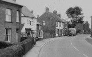 Ibstock, Shops On Melbourne Road c.1965