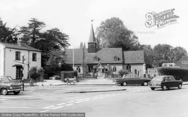 Ickenham, Church Of St Giles c.1965