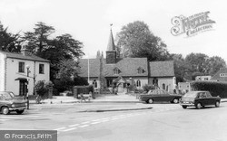 Ickenham, St Giles' Church c1965