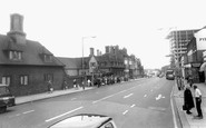 Ilford, the High Road and Old Houses c1965