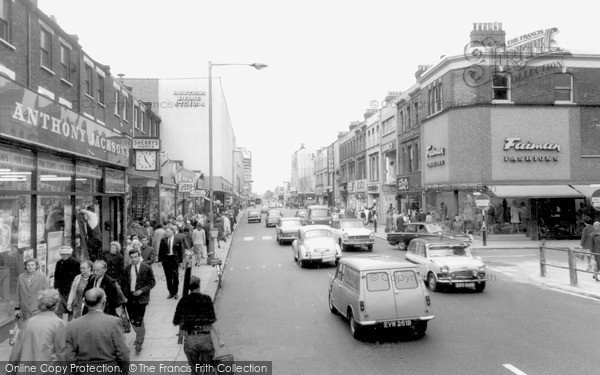 Home Ilford Photos Ilford, The High Road C1965