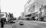 Ilford, the High Road c1965