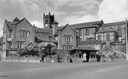 Illingworth, Talbot Inn And All Saints Church c.1960