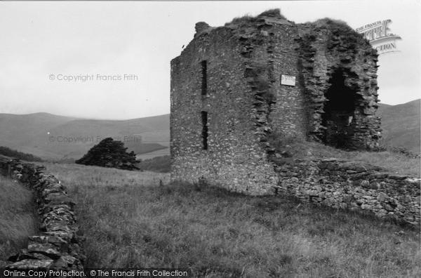 Innerleithen, Elibank Castle 1951