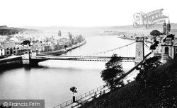 Inverness, From The Castle C1890
