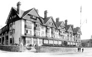 Jersey, St Helier, the Grand Hotel 1893