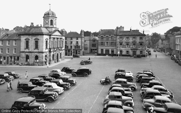 Kelso, The Square c.1955