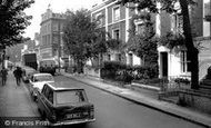 Kensington, Holland Street c1965