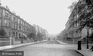 Kensington, Palace Gardens Terrace 1906