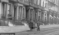 Kensington, Palace Gardens Terrace, Delivery Boy 1906