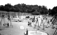 Kettering, Children's Playground c.1955