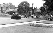 Kettering, Manor House Gardens c.1955
